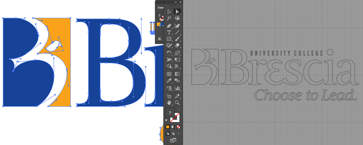 Brescia logo design file