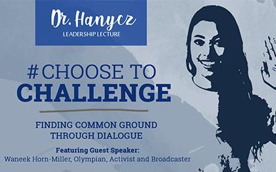 Dr. Hanycz Leadership Lecture